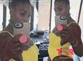 Serena Williams 'Announced pregnancy by ACCIDENT'