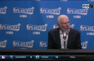 gregg popovich on manu in game 5 win over memphis