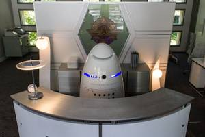 A drunk man was arrested for knocking over Silicon Valley's crime-fighting robot