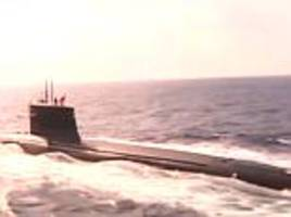 Never-before-seen footage of China's nuclear missile sub