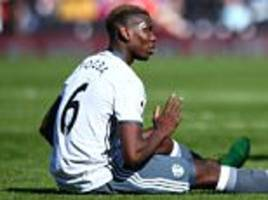 paul pogba injury: manchester united star out of derby