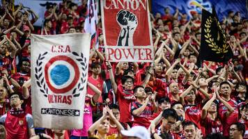 Chinese side investigated over Hong Kong banner