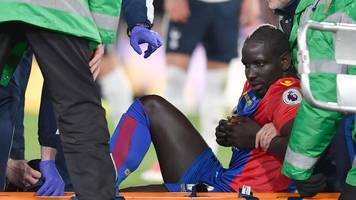 mamadou sakho: crystal palace defender suffers suspected ligament damage