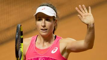 Johanna Konta: British number one beats Naomi Osaka in Stuttgart