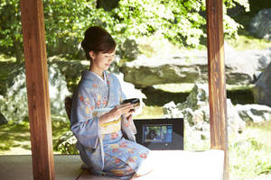 take home the beauty of kyoto: camera sharing service pan offered at two temples for limited time [panasonic]