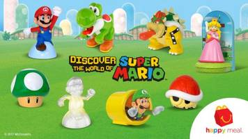 mcdonald's happy meals will come with mario toys for a limited time