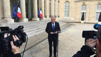france says it has proof syrian government was behind chemical attack