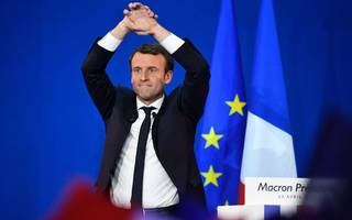 emmanuel macron for president is almost a done deal. almost