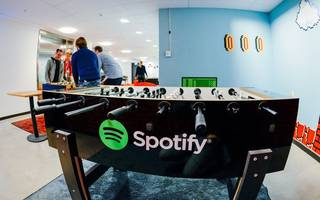 spotify's just acquired a blockchain startup
