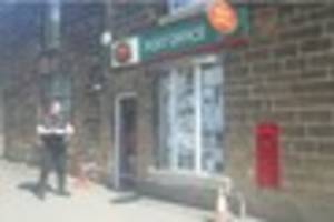 Post Office cordoned off after 'raid'