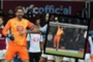 why it is no surprise to see scott carson named player of the...
