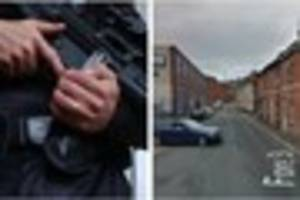 Firearms response and arrest after woman suffers serious facial...