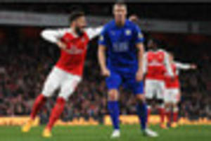 Arsenal 1-0 Leicester City reaction: We didn't deserve that, says...