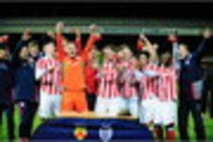 souttar header and isted magic help stoke win county cup for...