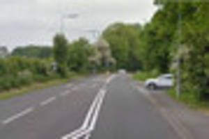 Drivers facing long delays after two car smash in Lincoln