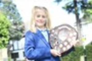 the south croydon schoolgirl who is already being tipped to...