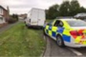 Motorist has his van seized in Newhall after driving past police...