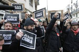 10 suspects arrested, charged with supplying weapons to one of charlie hebdo attackers