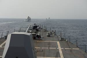 U.S. Fires Warning Flare During Tense Naval Encounter With Iran In Persian Gulf