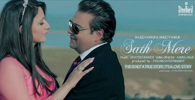 """Delhi Based Industry Couple Rajeev & Sweety Kapur Bags the Prestigious Dadasaheb Phalke Excellence Awards 2017 For """"The Best Album Of The Year 2016"""" Sath Mere - Love Never Ends"""