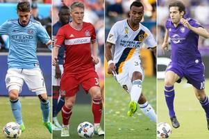 mls player salaries revealed as kaka tops the pile but ashley cole receives 'only' £5,000 a week