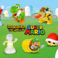 """mcdonald's happy meals """"power up"""" with toys based on mario and friends"""
