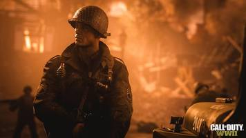 call of duty: wwii trailer lands on normandy's beaches