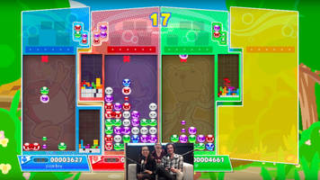 Watch us lose our minds over Puyo Puyo Tetris