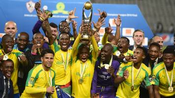 mamelodi sundowns handed a tricky champions league draw