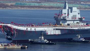 China introduces its first homemade aircraft carrier