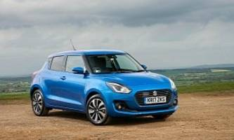 2017 Suzuki Swift On Sale In The UK From June, Priced From GBP 10,999