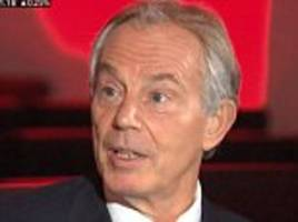 Tony Blair backs Theresa May to win the election