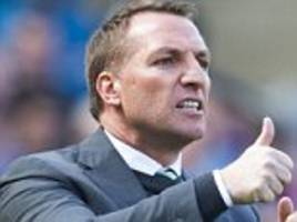 Celtic boss Brendan Rodgers warns Rangers