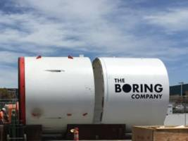 we just got our first glimpse of elon musk's new tunnel company (tsla)