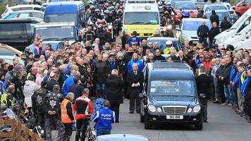 Northern Ireland bikers pay respects to Italian Dario Cecconi