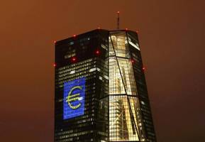 ecb keeps rates unchanged, says ready to expand qe if outlook worsens; euro slides