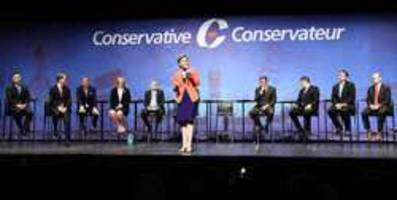 Conservative candidates battle it out after O'Leary quits