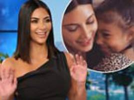 Kim Kardashian had to pretend to BREASTFEED daughter North