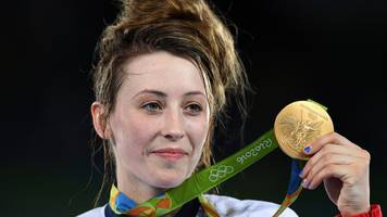 olympic taekwondo champion jones wins on return