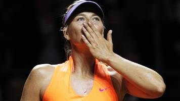 'cheater' sharapova should not play tennis again - bouchard