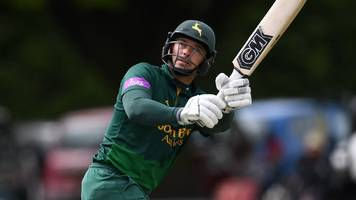 one-day cup: michael lumb hits ton but worcestershire beat nottinghamshire
