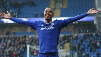cardiff city: striker kenneth zohore in talks over contract extension