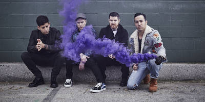 """fall out boy announce new album <i>m a n i a</i>, share video for new song """"young and menace"""": watch"""
