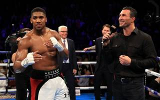 betting: anthony joshua to come of age against veteran wladimir klitschko