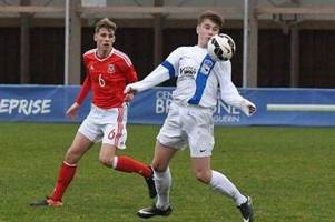 bristol rovers starlet leads national side for the first time