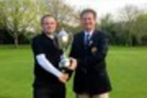 James Billingham wins first county golf major by lifting Robin...