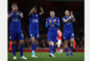 leicester city still have work to do, warns marc albrighton