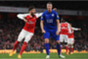leicester city will take heart from defensive display at arsenal,...