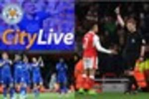 live leicester city news: craig shakespeare and arsene wenger...