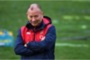 Eddie Jones to give question and answer session after Wayne...